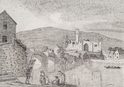 The Old Bridge, Carrick-on-Suir (1778)